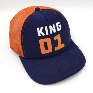King 01 Snapback Trucker Mesh Hat Cap